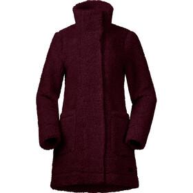 Bergans Oslo Wool LooseFit Takki Naiset, zinfandel red melange